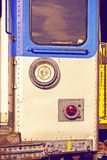 City Train Closeup Stock Images