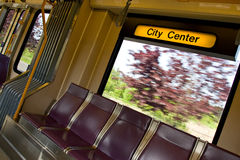 City transit rail system Stock Photography