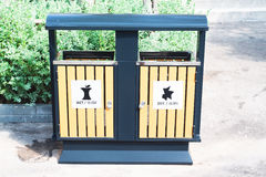 City trash can. With modern design Stock Photo
