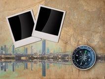 City Travle concept background Stock Images