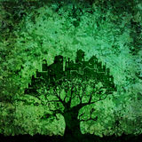 City - tree Royalty Free Stock Photo