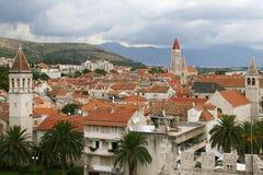 City of Trogir stock photo
