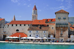 The city of Trogir in Dalmatia, Croatia. Royalty Free Stock Photo