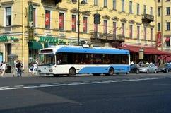 City trolleybus Royalty Free Stock Photos
