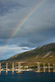 City of tromso Royalty Free Stock Photography