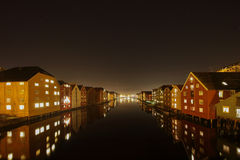 The City Of Trondheim Royalty Free Stock Images