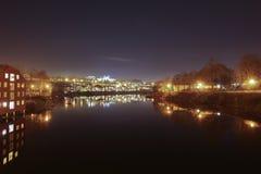 The City Of Trondheim Royalty Free Stock Photos