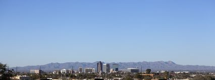 City of Tucson panorama, AZ Royalty Free Stock Image