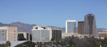 City of Tucson Panorama, AZ Royalty Free Stock Image