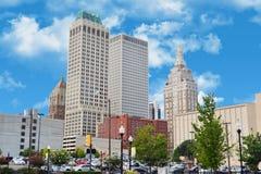 City tulsa stock image