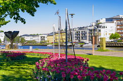 City of Turku Finland Stock Images