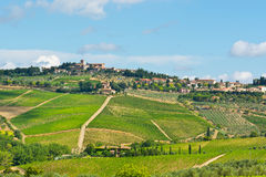 City in Tuscany Royalty Free Stock Image