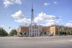City Tver. Building of post office Stock Image