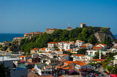 The city Ulcinj. Stock Images