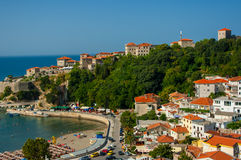The city Ulcinj. Royalty Free Stock Image
