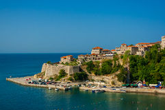 The city Ulcinj. Royalty Free Stock Photo