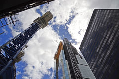 The City under construction Royalty Free Stock Photos
