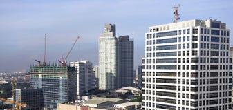 City under development Stock Images