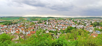 City of Untergruppenbach, panorama Royalty Free Stock Photo