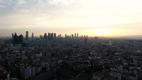City, urban landscape. Urban landscape from the air stock footage