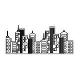 City urban view Arkivbilder
