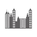 City urban view Arkivfoton