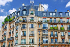City, urban  view on building in  Paris.France. Stock Image