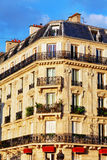 City, urban  view on building in  Paris.France. Stock Images
