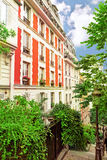 City, urban  view of Paris Stock Photography