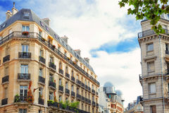 City, urban  view of Paris. Royalty Free Stock Photo