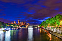 City, urban  view of Paris Royalty Free Stock Photography