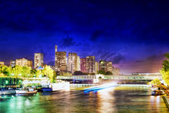 City, urban  view of Paris Royalty Free Stock Photos