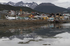 The city of Ushuaia Stock Image
