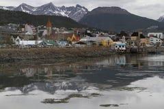 The city of Ushuaia Stock Image