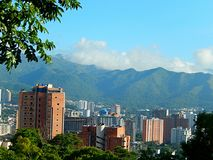 City of valencia. This incredible city of venezuela, has the exclusivity of sharing it with nature, full of pure and green air of the trees Royalty Free Stock Photography