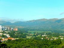City of valencia. This incredible city of venezuela, has the exclusivity of sharing it with nature, full of pure and green air of the trees Stock Photo