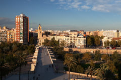 City of Valencia, Spain Royalty Free Stock Image