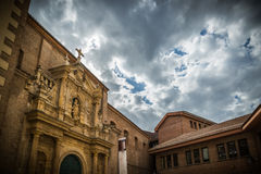 City Valladolid. Valladolid, historical and cultural city, Spain Royalty Free Stock Images
