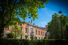 City of Valladolid Stock Photography