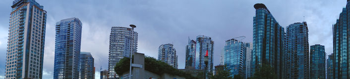 City of Vancouver,Canada stock photography