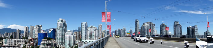 City of Vancouver,Canada royalty free stock photography