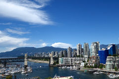 City of Vancouver,Canada Royalty Free Stock Photos