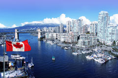 City of Vancouver royalty free stock photos