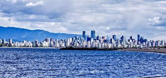 City of Vancouver  royalty free stock photo