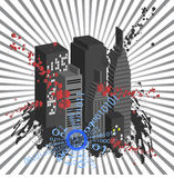 City Vector Stock Images