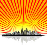 City Vector Royalty Free Stock Image