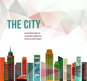 City - vector background Royalty Free Stock Image