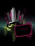 City vector composition Stock Photo