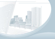 City vector illustration Royalty Free Stock Photography
