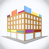 City, vector illustration Stock Photo